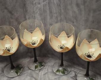 3-Dimension, Magnolia Wine glass