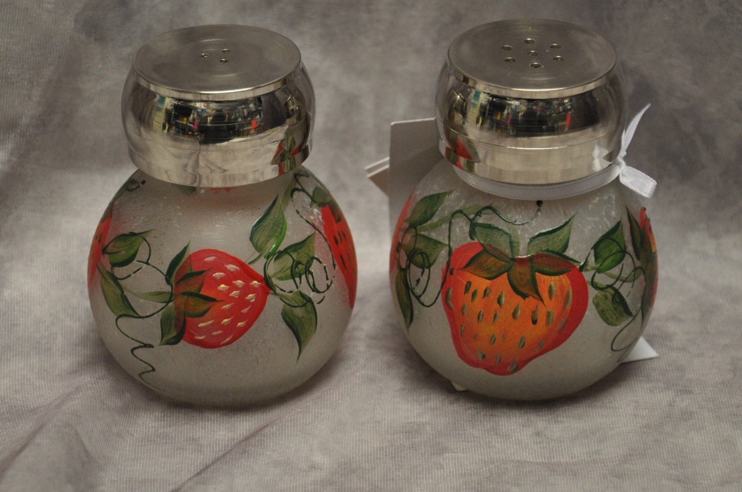 Hand Painted Salt Pepper Shakers