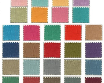 Lightweight Canvas in Assorted Colors By the Yard