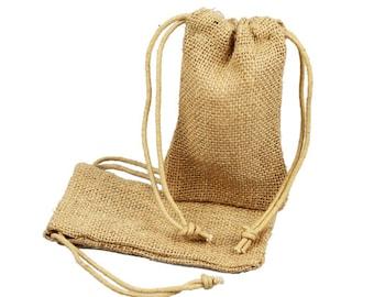 5 x 6  Burlap Favor Bags (24 Pack)