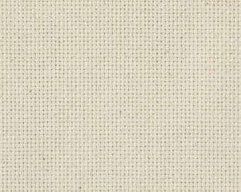 """14 Count Aida Cloth - Natural, 60"""" By The Yard"""