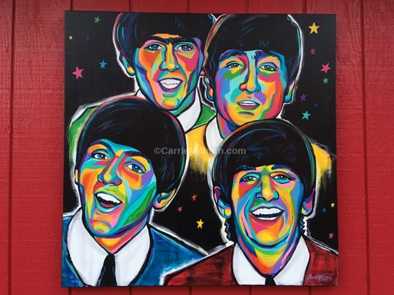 The Beatles Canvas Print 20*30 Inch HUGE !