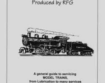 MODEL TRAINS SERVICING Guide Booklet O Gauge Scale RFG102A