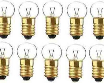 10 432 Clear 18v BULBS Lionel Trains American Flyer Trains Marx PARTS