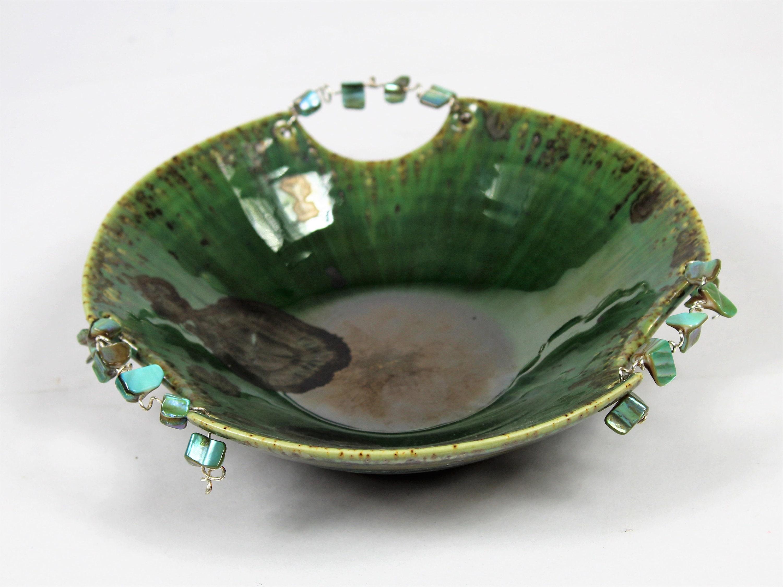 Ceramic handmade. Ring Dish Abalone