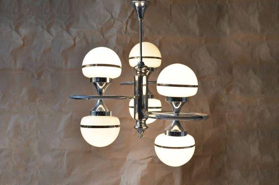 space age lampe 70er jahre etsy. Black Bedroom Furniture Sets. Home Design Ideas
