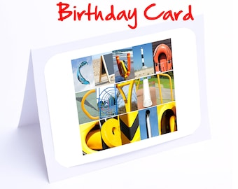 Cavin Personalised Birthday Card