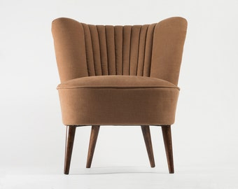 Completely restored cocktail chair from 1970's