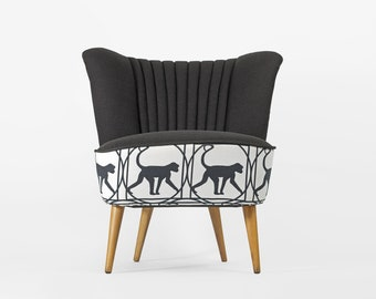 Completely  restored Monkey coctail chair from 1970's