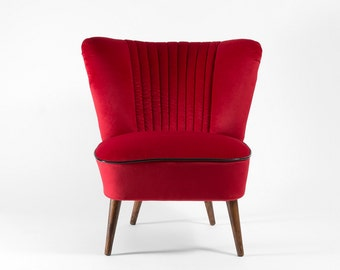 Completely restored cocktail chair from 1972