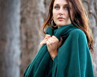 Fleecy Unhooded Cape - Choose your colour