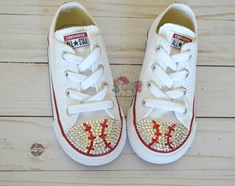 e6729f47e5f08b Minnie Mouse Toddler Converse Bling Shoes Hot Pink Disney