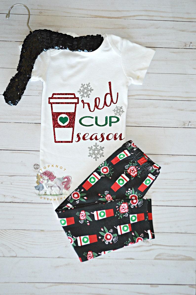 59fe0ecbe Starbucks Coffee Onesie Coffee Onesie Red Cup Season Shirt   Etsy