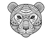 Ähnliche Artikel wie Tiger Coloring Page, Instant Download ...