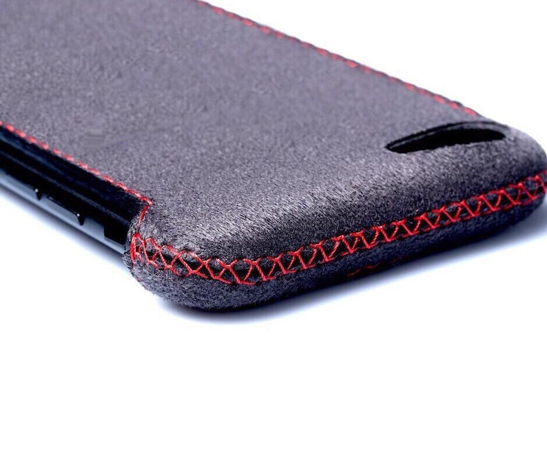 alcantara iphone 7 case