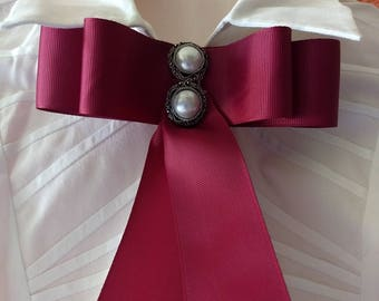 Bow for neck and decorative for clothes