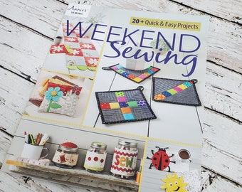 Weekend Sewing 20 quick & easy Projects | Sewing Pattern Book | Beginner Sewing