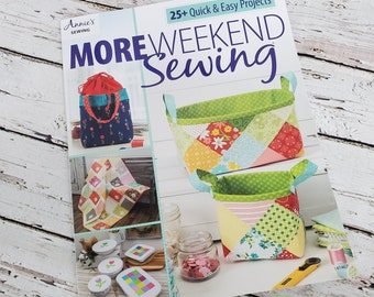 More Weekend Sewing 25+ quick & easy Projects | Sewing Pattern Book | Beginner Sewing