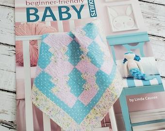 Beginner-friendly Baby Quilts |  Baby Quilt Pattern Book  |  Baby Blanket Patterns