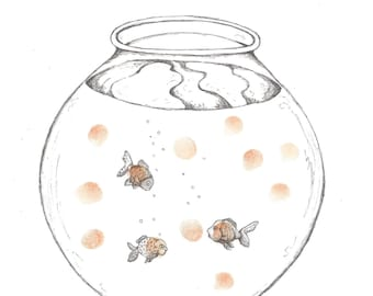 Image result for fingerprints on the fish bowl