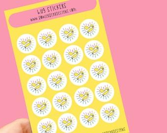 Hug sticker sheet - Virtual hug stickers - Planning Stickers - Covid stickers