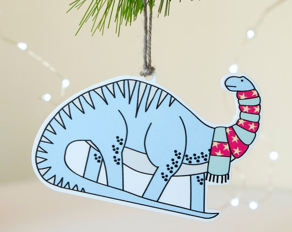 Dinosaur Christmas Decorations - Diplodocus