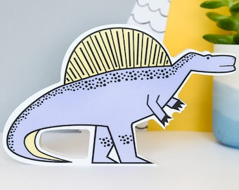 Dinosaur gift for girls - Purple Dinosaur - Dinosaur decor