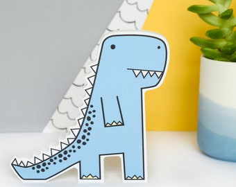 Dinosaur gift for boys - Dinosaur decor