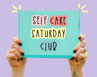 Self Care Saturday Club - Happy collection - Gift box