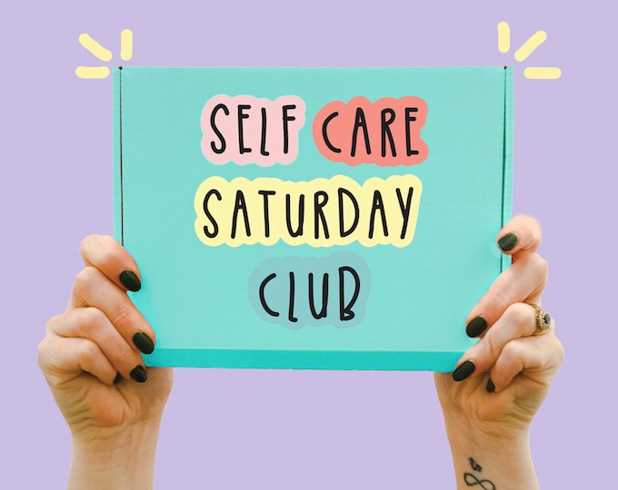 Featured listing image: Self Care Saturday Club - Happy collection - Gift box