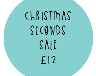 Seconds Christmas Stickers - Sample stickers - Faulty Sticker pack