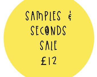 Seconds Stickers - Sample stickers - Faulty Sticker pack