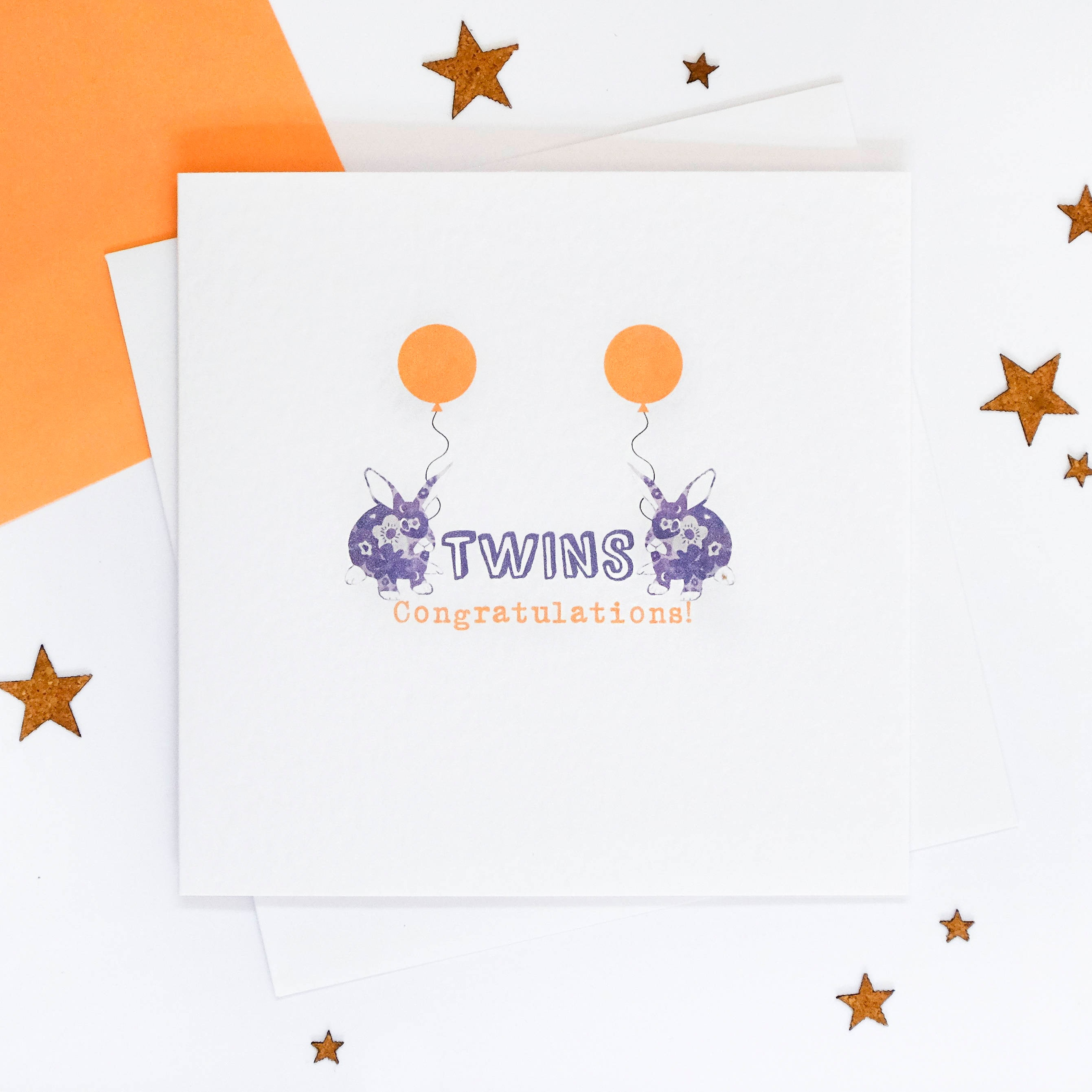 twins twins birthday card congratulations newborn twins twin babies twin boys twin girls baby card newborn baby blank inside - New Born Baby Card