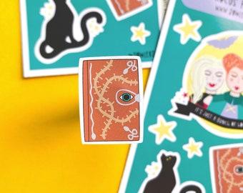 Hocus Pocus Sticker sheet - 90s movie stickers - Halloween Stickers - Journaling Stickers