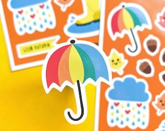 Autumn Sticker sheet - Autumn icons - Autumn mini Stickers - Autumn Journaling decoration