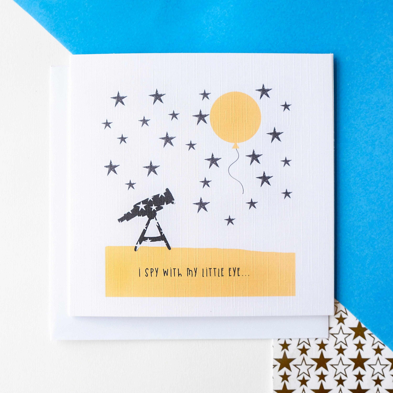 I Spy Birthday Card Birthday Card Boy Girl Husband Wife