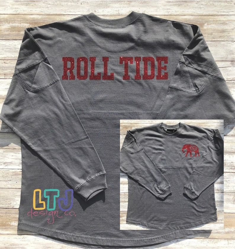 official photos 1ca07 994f7 Alabama Football Shirt ~ Roll Tide Shirt ~ SEC Football Shirt ~ Alabama  Crimson Tide Shirt ~ Personalized Pennant Billboard Crew Jersey