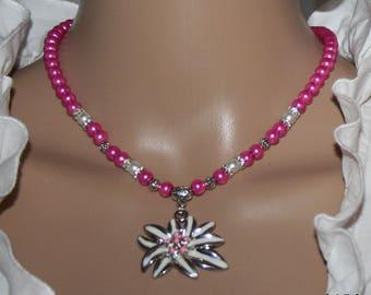 Edelweiss Pearl-Necklace-Earrings-Set