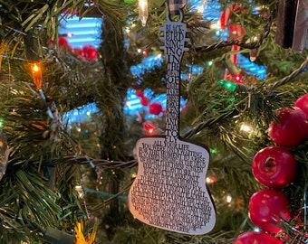 Beatles Blackbird Ornament
