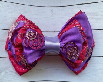 Cheshire Cat Inspired Deluxe Bow