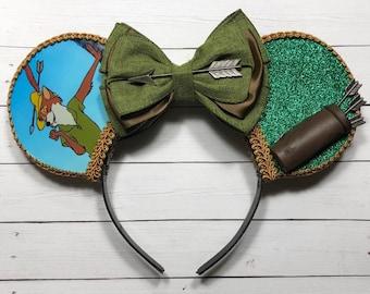 Robin Hood Inspired Mouse Ears