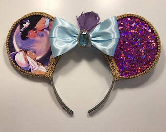 Prince Ali and Jasmine Inspired Mouse Ears