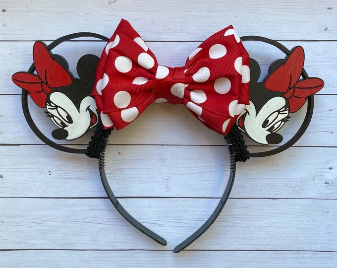 Minnie Mouse Inspired Mouse Ears
