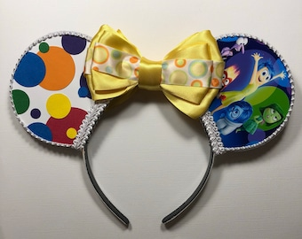 Inside Out Inspired Mouse Ears