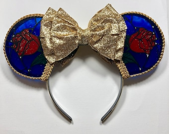 Enchanted Rose Inspired Mouse Ears