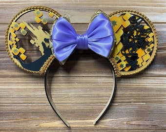 Rapunzel Inspired Mouse Ears