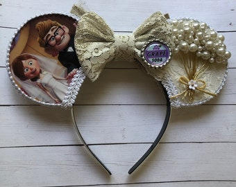 Bridal UP Married Life Inspired Mouse Ears