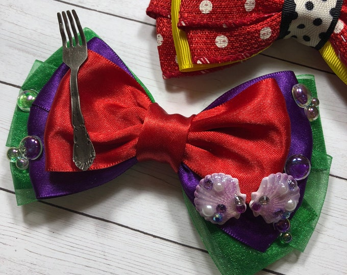 Ariel Inspired Deluxe Bow