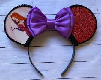 Jessica Rabbit Inspired Mouse Ears