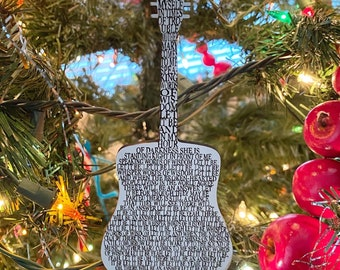 Beatles Let It Be Inspired Ornament